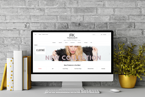 בניית אתר Fashion