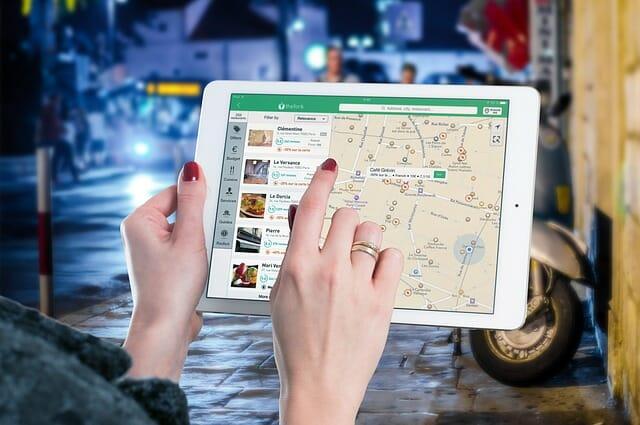 שירות המפות של גוגל