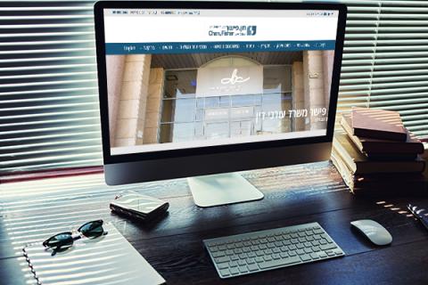 בניית אתר עורך דין CDLAW